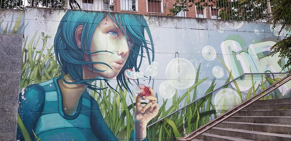 Street art en Vitoria-Gasteiz